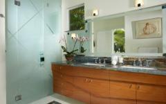 intérieur salle de bains luxe