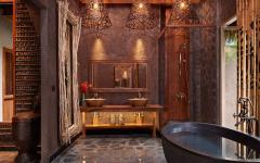 salle de bain villa de luxe à louer thailande