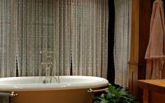 baignoire design rustique maison secondaire