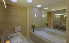 salle de bain design pratique