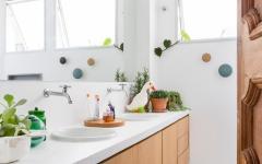 salle de bains design éclectique appart rénové