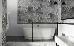 design éclectique intérieur salle de bains
