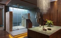 spacieuse salle de bains luxe