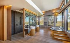 salle de bains chambre principale maison australienne de luxe