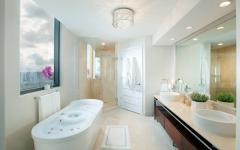 salle de bains luxueuse appartement