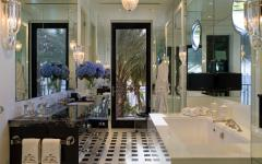 salle de bains design luxe marbre