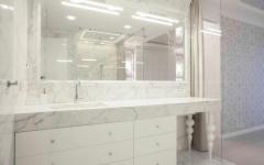 aménagement salle de bains luxe