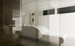 design futuriste salle de bain loft maison de ville