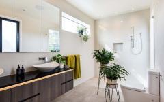 salle de bain luxe minimaliste maison de ville