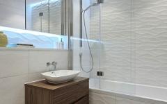 appartement de ville salle de bain compacte