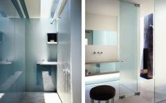 salle de bains simple et minimaliste maison de luxe