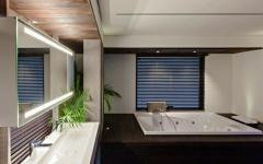 salle de bains design moderne baignoire