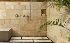 salle de bain déco aménagement rustique
