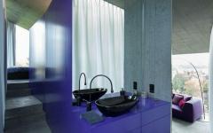 salle de bain originale entre deux chambres