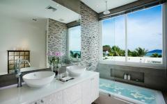 salle de bains luxueuse design