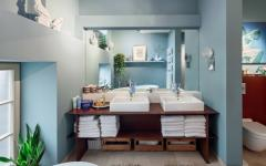 loft design salle de bains luxe