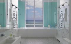 salle de bains aménagée design luxe