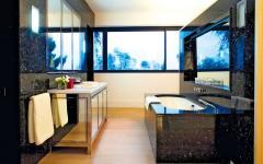 salle de bains privative chambre à coucher villa à louer luxe