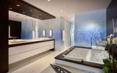salle de bains design luxe élégant