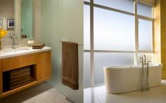 salle de bains design contemporaine de ville