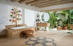 spacieuse et luxueuse salle de bain déco