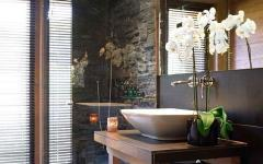 luxe prestige design salle de bains rustique