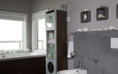 salle de bain traditionnelle design classique villa de vacances