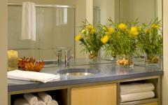 salle de bain simple design moderne