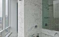 salle de bain design luxe marbre