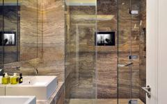 salle de douche marbre