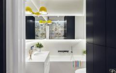 salle de bains appartement moderne familial