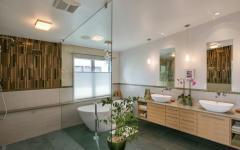 salle de bain design luxe