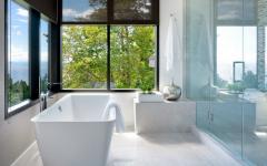 superbe baignoire avec vue panoramique