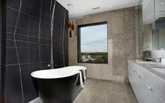 salle de bain design marbre luxe