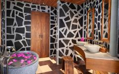 intérieur design salle de bain villa location de vacances luxe