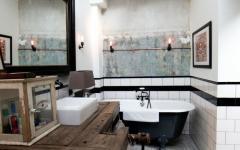 salle de bains design industriel déco