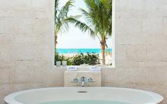 salle de bains outdoor extérieure exotique
