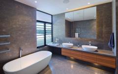 design moderne et luxueux salle de bain