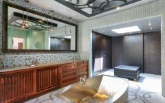 Dressing & salle de bain luxe maison