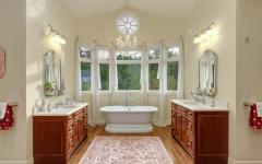 salle de bain design luxe rustique