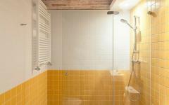 salle de bains design d'antan