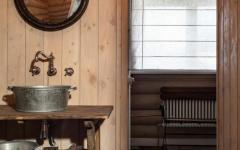 salle de bain design rustique maison campagne