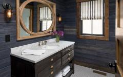 idées déco rustique salle de bain maison secondaire