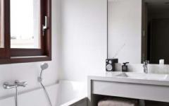 design minimaliste simple salle de bains