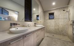 salle de bains luxe résidence secondaire plage vacances