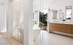 luxe salle de bains baignoire avec vue