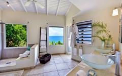 intérieur villa exotique de vacances