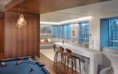 salle de jeux billards mezzanine étage