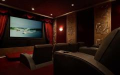 salle de cinéma privée maison de prestige