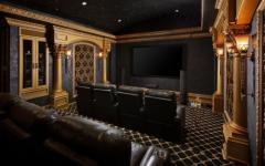 salle de cinéma privée chic